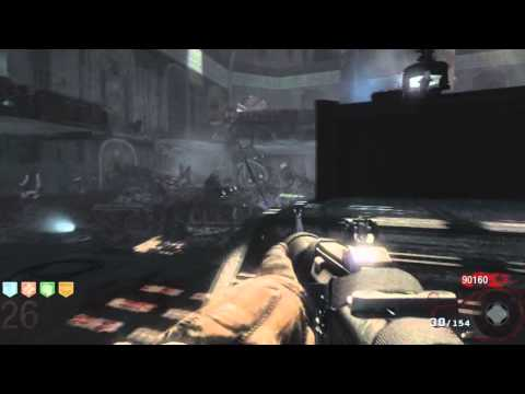 Black Ops Zombies - Round 60 Tutorial, Playthrough Killing 3,500 Zombies Pt.3/20