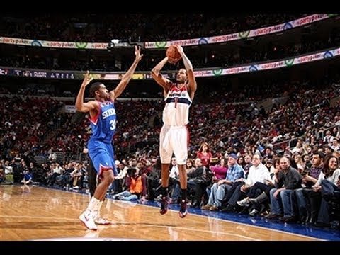 Trevor Ariza Drops a Career-High 40 Points on the 76ers