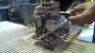 Mini V8 Engine Air Compressed