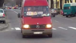 Microbuz plin pînă la refuz pe ruta 125