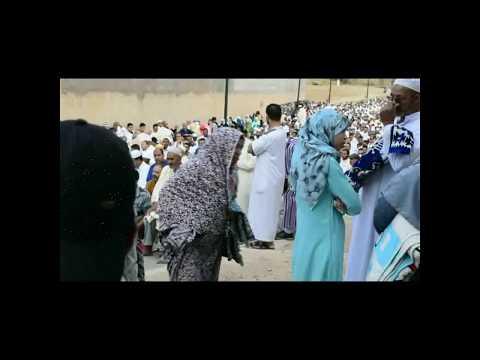 ميدلت : جانب من اجواء صلاة عيد الاضحى – 2017