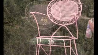 Pintar una silla de metal con aerosol
