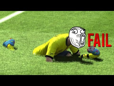 The Ultimate FIFA 13 FAIL Compilation!