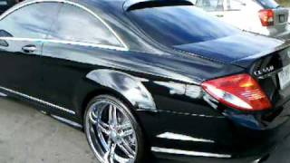 "Mercedes Benze Cl 500 On 22"" Asanti Wheels"
