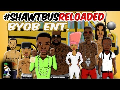 #ShawtBusReloaded ( Follow @BYOBent  #BYOBent #ShawtBusShawty remix parody cartoon)