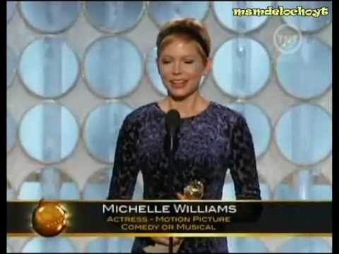 Golden Globes 2012 - Michelle Williams - Best Actress Comedy or Musical