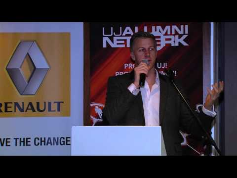 Renault and UJ Alumni network in Conversation with Gareth Cliff