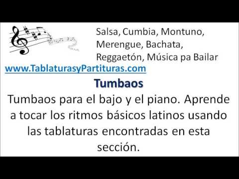 Tablaturas y Partituras