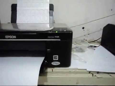 Adesivos de unhas impressos em impressora comum