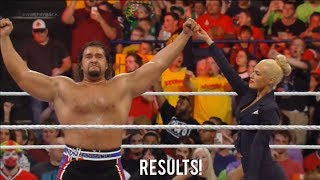 WWE Payback 2014 Rusev Vs Big E Result!