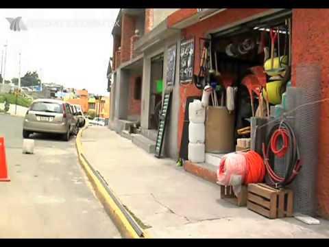 Se roban cable de luz en Toluca