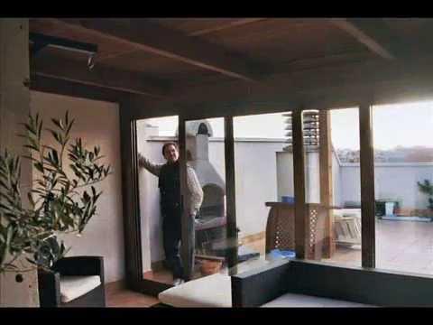 Cerramientos de terrazas en madera 3 youtube - Terrazas de madera ...