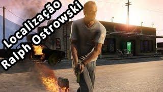 GTA V Localização Ralph Ostrowski Na Pedreira