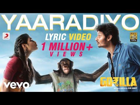 Gorilla - Yaaradiyo Tamil Lyric - Jiiva, Shalini Pandey - Sam C.S.