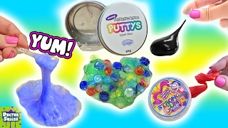 Squishy Putty Collection! Magnetic Thinking Putty Liquid Glass Doctor Squish