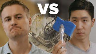 How Do You Use A Dishwasher • Korea Vs. America