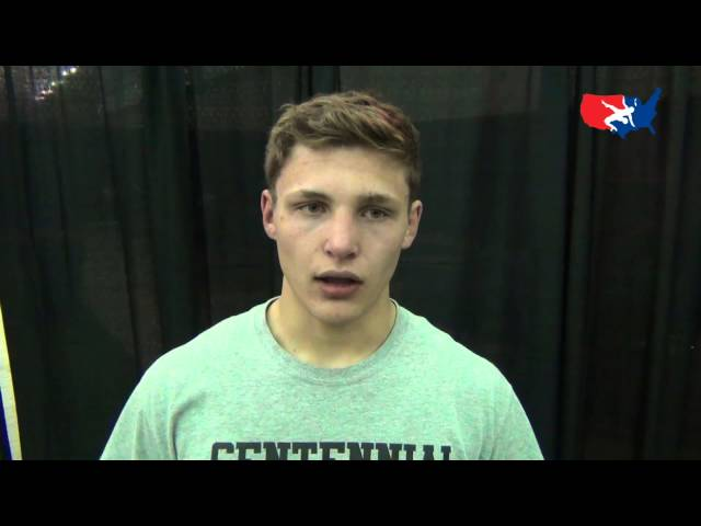 Jon Jay Chavez wins FILA Cadet Greco-Roman Nationals