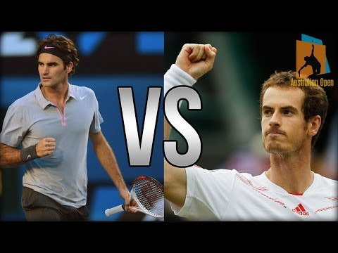 Roger Federer Vs Andy Murray Australian Open 2014 HIGHLIGHTS
