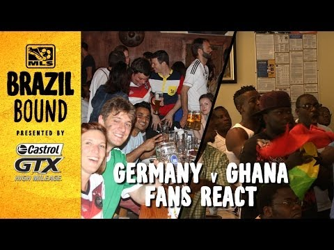 Germany and Ghana fans react to shock result | Brazil Bound