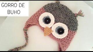 Gorro De Buho A Crochet Tallas De 0 A 2 Años Parte 2 De 2