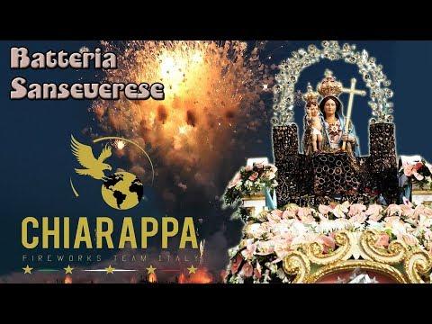 BELLONA (Ce) - Maria Ss di Gerusalemme 2018 - CHIARAPPA Fireworks (Batteria Sanseverese)
