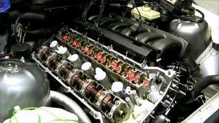 Снятие и установка распределительных валов на двигателях серии M50
