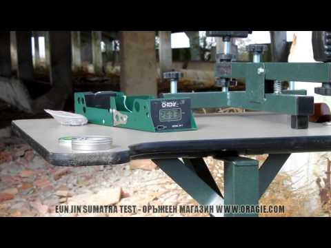 Air rifle Sumatra test