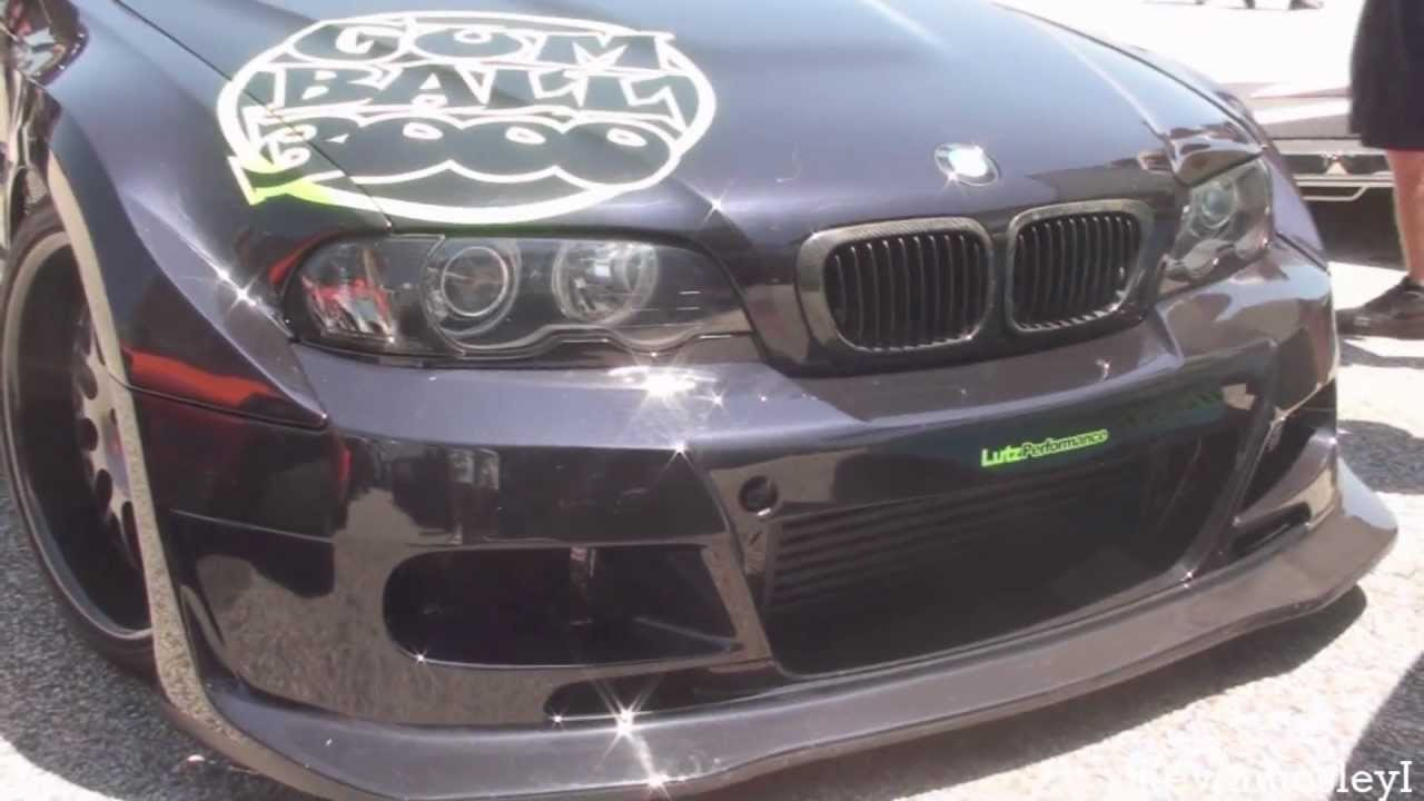 e90 m3 bodykit. modified bmw 3 series e92 coupe with custom front