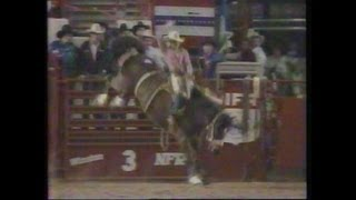 Saddle Bronc Riding - 1984 NFR Rodeo Round Highlights and 10th Round