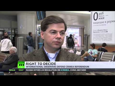 Crimean 'referendum at gunpoint' is a myth -- intl observers — RT News