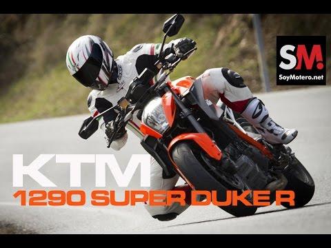 Prueba KTM 1290 Super Duke R