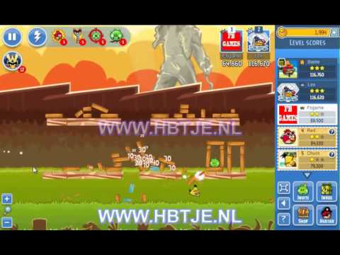 Angry birds weekly tournament level 6 week 68