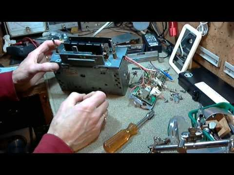 Car Radio Repair Video #2 - 1968 Ford Mustang Philco AM/FM Radio D3AA