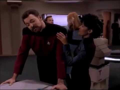 Star Trek: Riker & Barclay go to Sickbay after gay sex