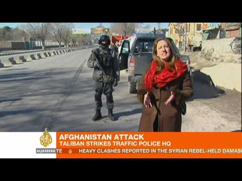Police and Taliban killed in hours-long Kabul attack