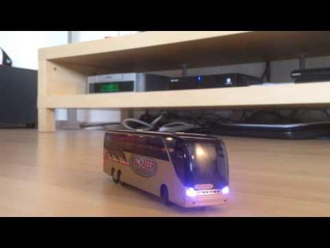 1:87 h0 RC ferngesteuert mikromodell Setra s 417 hdh Schäfer reisen werbemodell