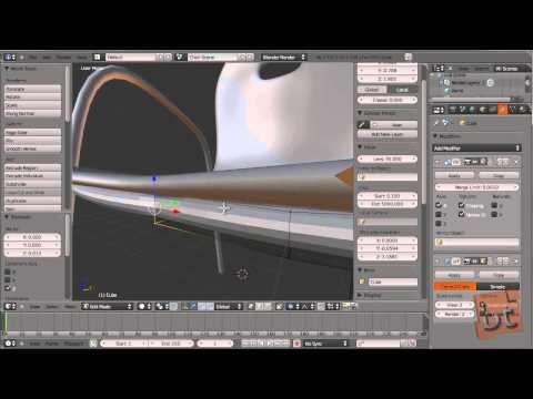 tutorial: Modelling Objects - Blender 2.5 & above