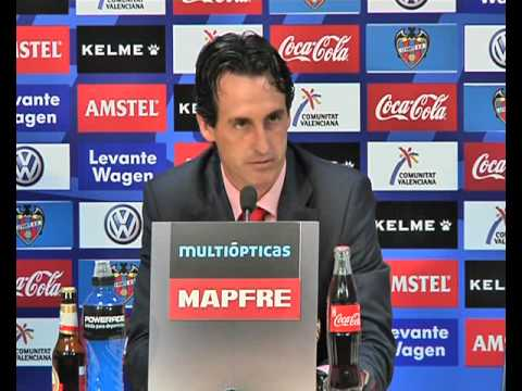 Rueda prensa Unai Emery. 25/08/13. Sevilla FC
