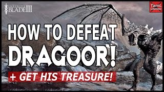 Infinity Blade 3: HOW TO DEFEAT DRAGOOR + GET HIS TREASURE