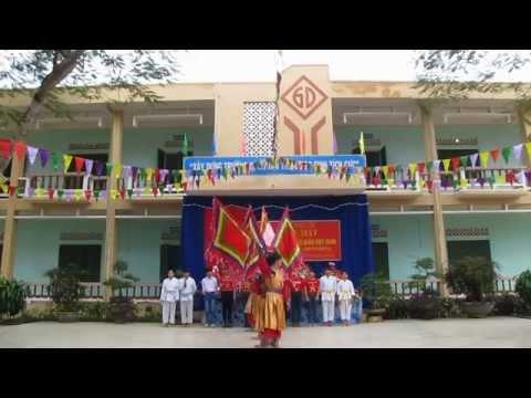 Buổi gặp mặt Kỷ niệm 32 năm ngày Nhà giáo Việt Nam 20/11/2014 - Trường Võ Thị Sáu - Lạc Sơn - HB