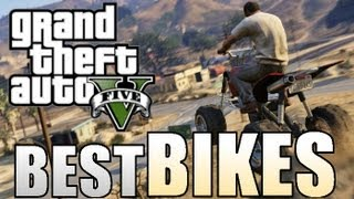 ALL BEST BIKES ON GTA 5 Shitzu Vader, Nagasaki Blazer