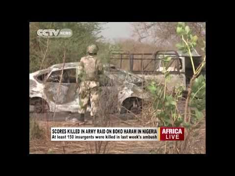 Nigeria army raids Boko Haram camp and kill 150 militants