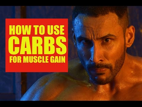 How to use carbs for muscle gain