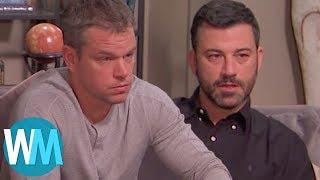 Top 10 Jimmy Kimmel Vs. Matt Damon Moments