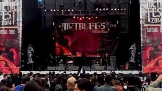 "INFERIS (brutal death metal)"" In the path of malignant spirits"" The Metal Fest 2014 - Multicamara"