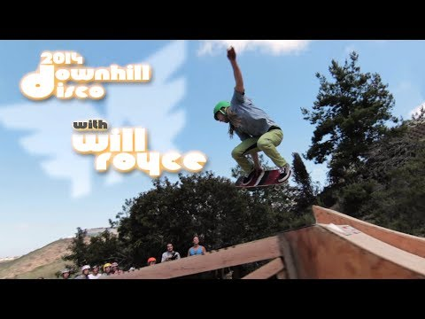 Raw Run with Will Royce | 2014 Downhill Disco | Muir Skate Longboard Shop