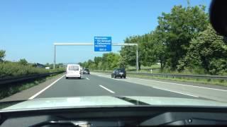 2014 Shelby GT500 On The Autobahn