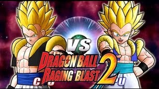 Dragon Ball Z Raging Blast 2 Gogeta Vs. Gotenks (Live