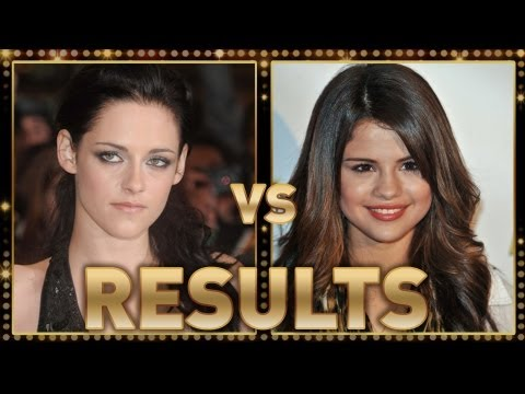 Kristen Stewart Vs. Selena Gomez - RESULTS!,