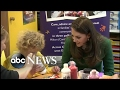 Princess Kate Bonds With Kids at Childrens Hospice